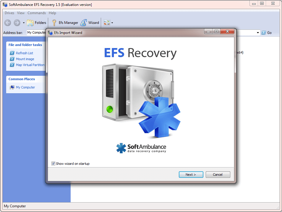 EFS Recovery restores EFS encrypted data