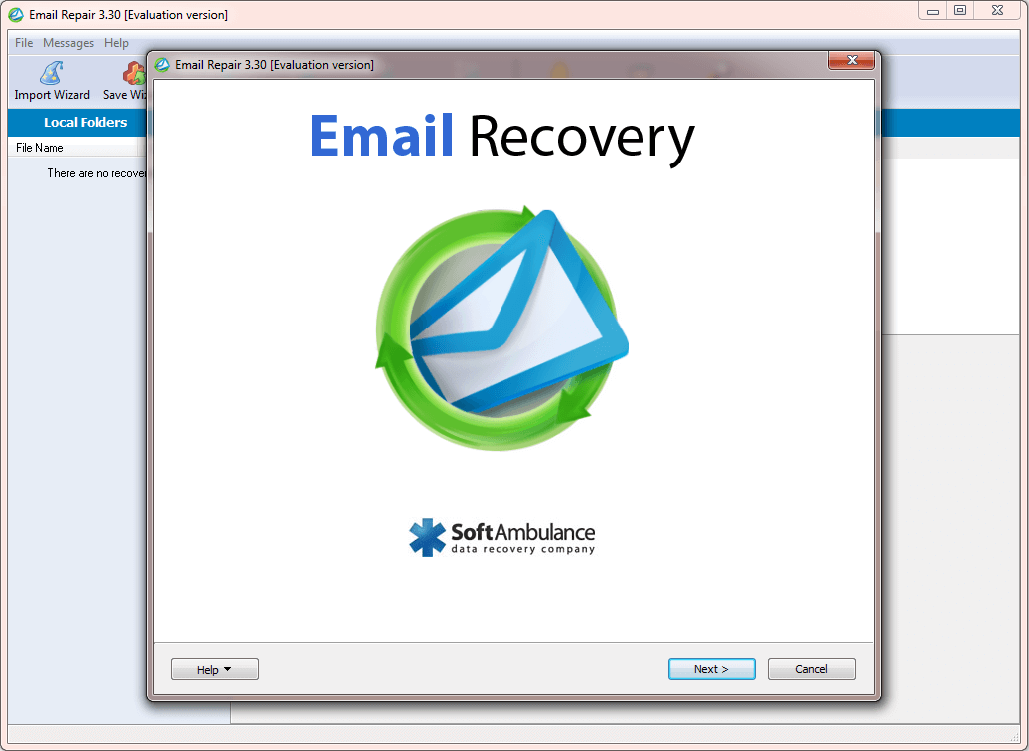 Free download Email Data Recovery Software