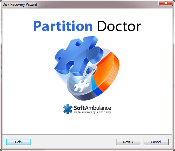 Click to view Partition Doctor 4.96 screenshot