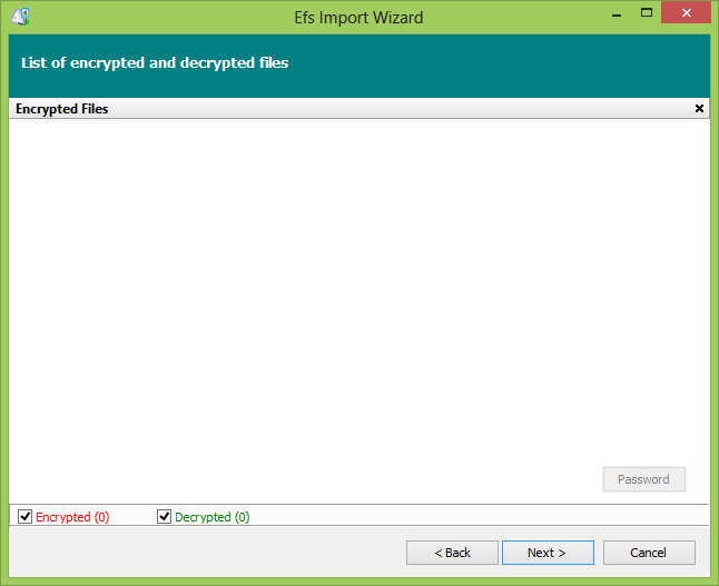 Recovered Encrypted\Decrypted files