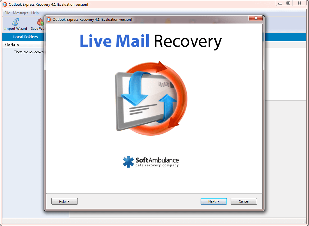 Live Mail Recovery